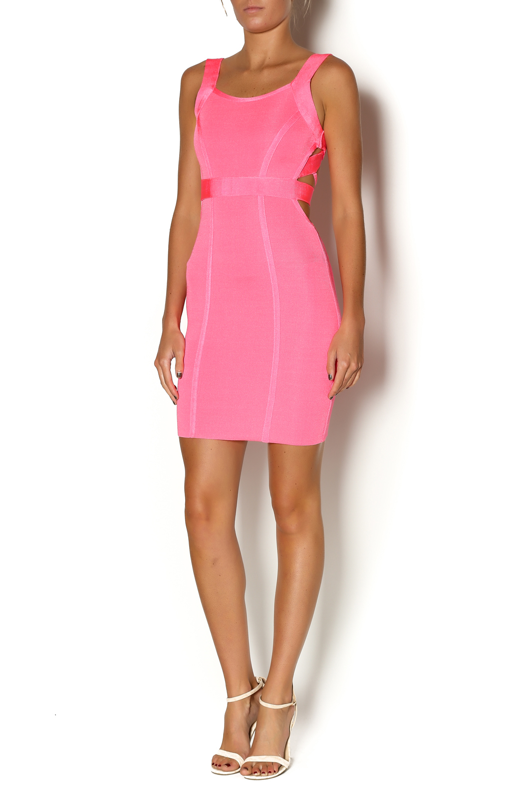 Wow Couture Pink Cut Out Dress from Houston by Heiress Boutique ... eaa4d39749e2