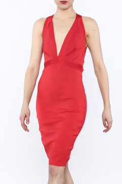 Wow Couture Plunge Bodycon Dress - Product List Image