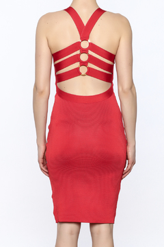 Wow Couture Plunge Bodycon Dress - Alternate List Image