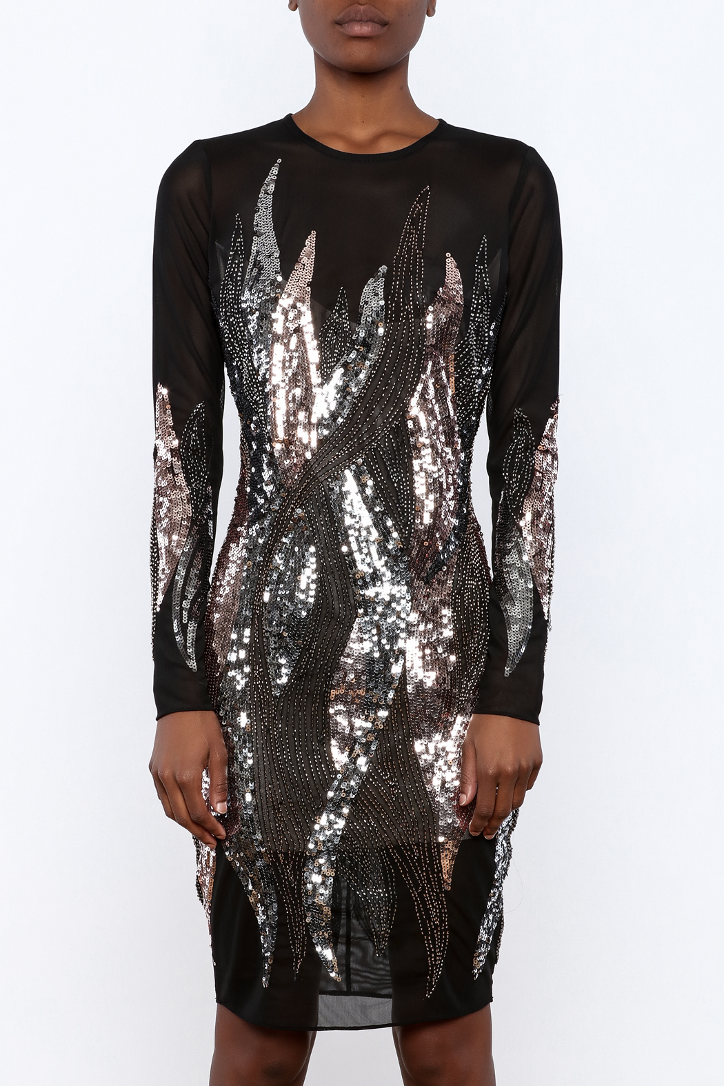 Wow Couture Sequin Low Back Dress from Houston by Armario De La ...