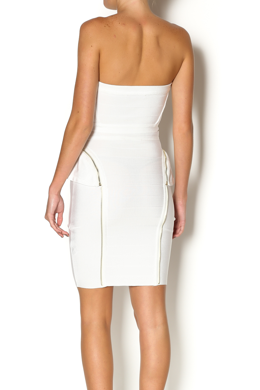 Wow Couture Two Piece Bandage Set - Back Cropped Image