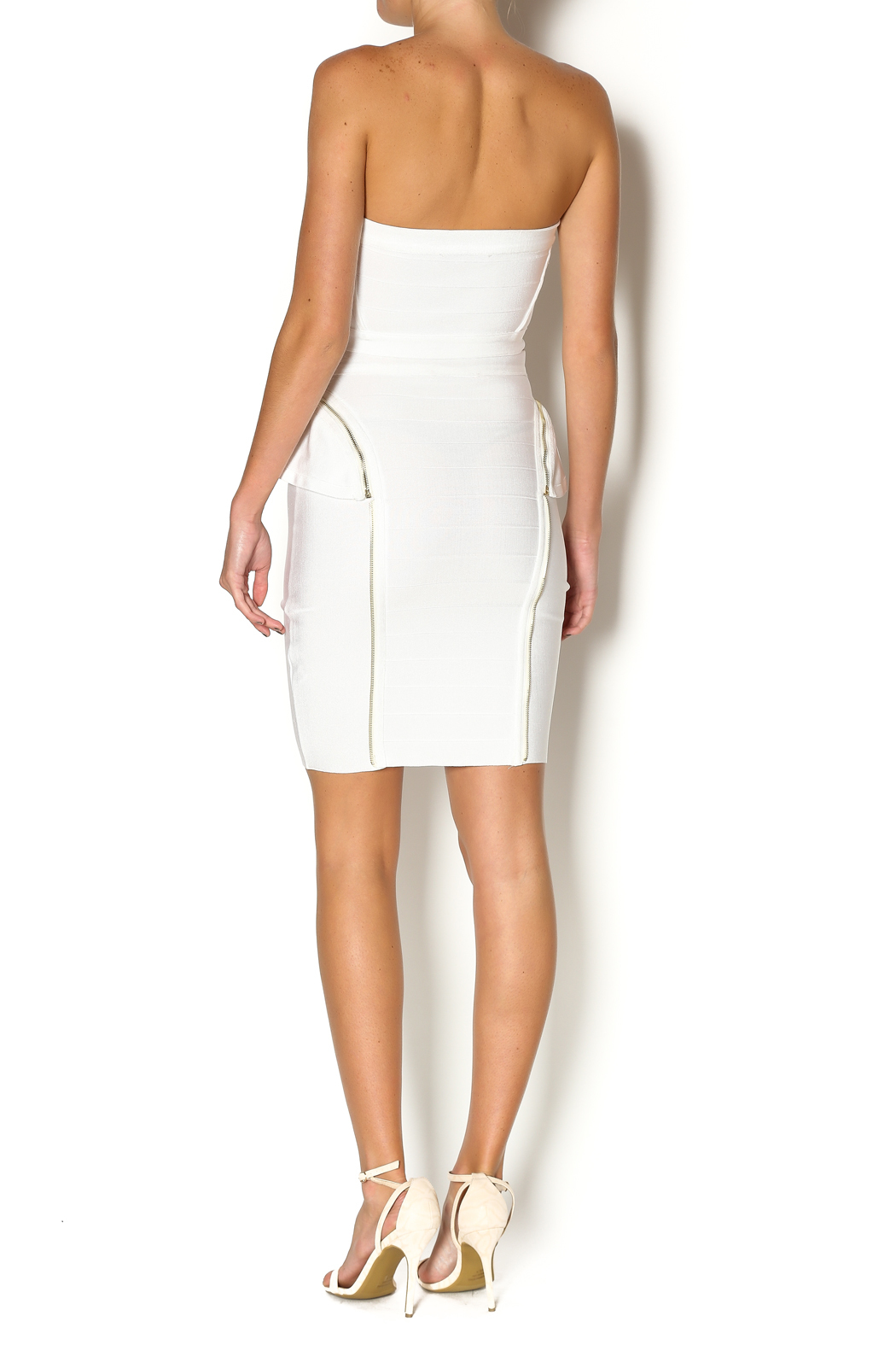 Wow Couture Two Piece Bandage Set - Side Cropped Image