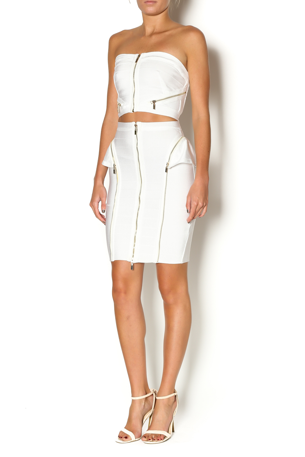 Wow Couture Two Piece Bandage Set - Front Full Image