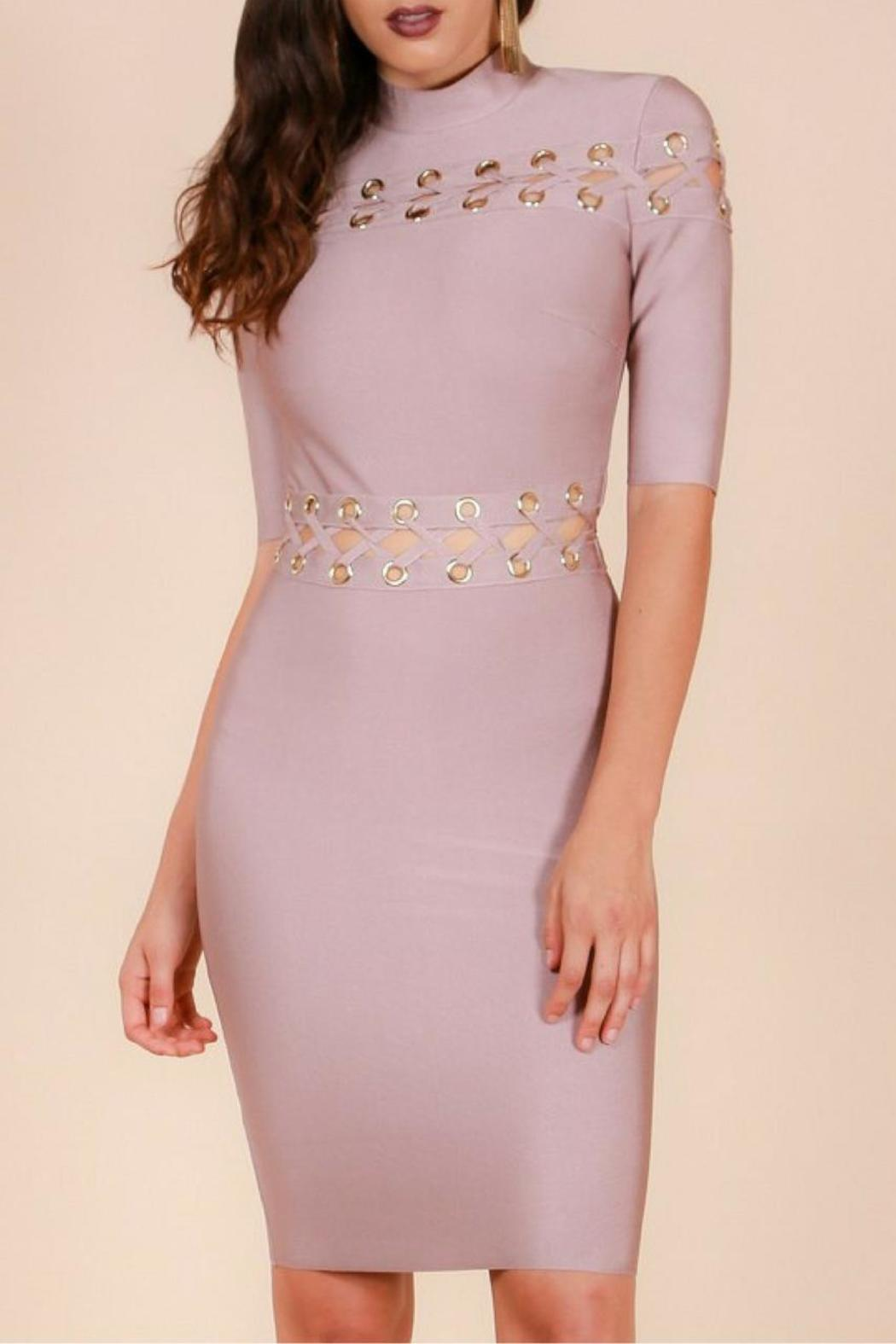 Wow Couture Bandage Dress - Main Image