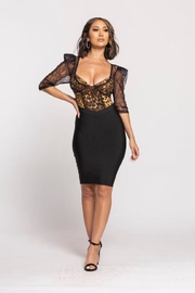 Wow Couture Bandage Twofer Dress - Product Mini Image