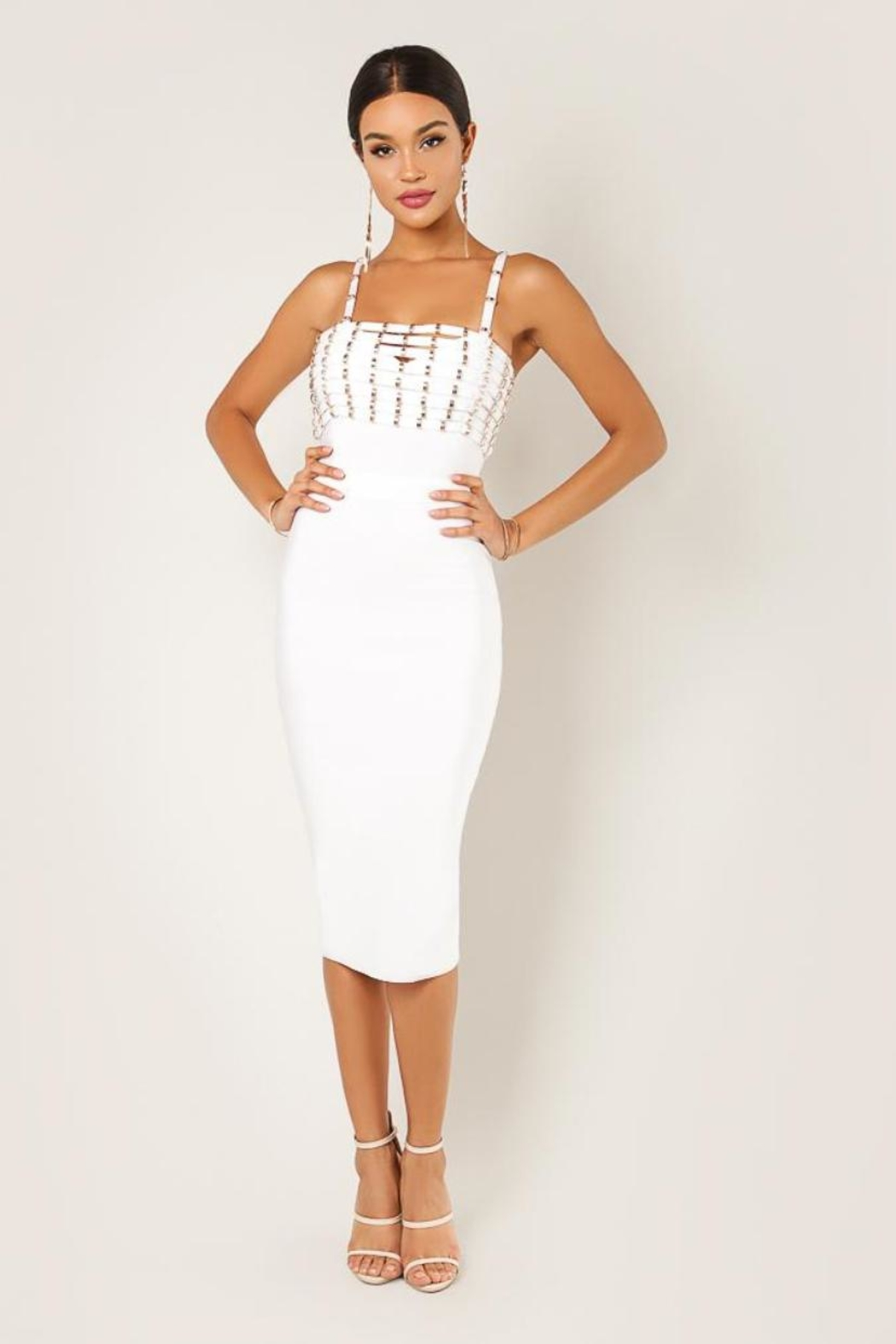 Wow Couture Issa Stud Dress - Main Image
