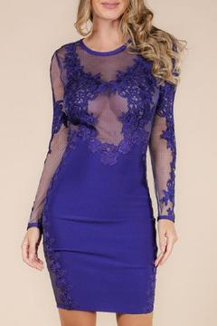 Wow Couture Lace Bandage Dress - Product List Image