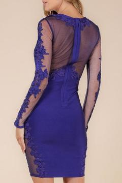 Wow Couture Lace Bandage Dress - Alternate List Image