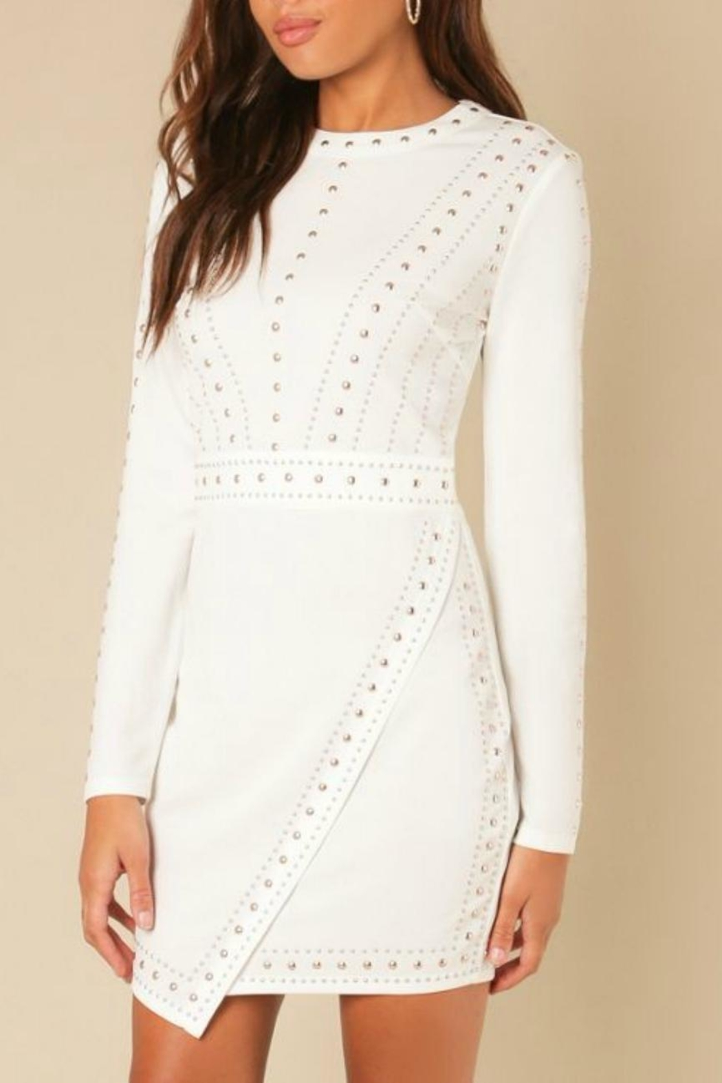 Wow Couture Longsleeve Bodycon Dress - Main Image