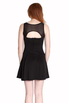 Wow Couture Mesh Cutout Dress - Alternate List Image