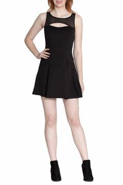 Wow Couture Mesh Cutout Dress - Product List Image