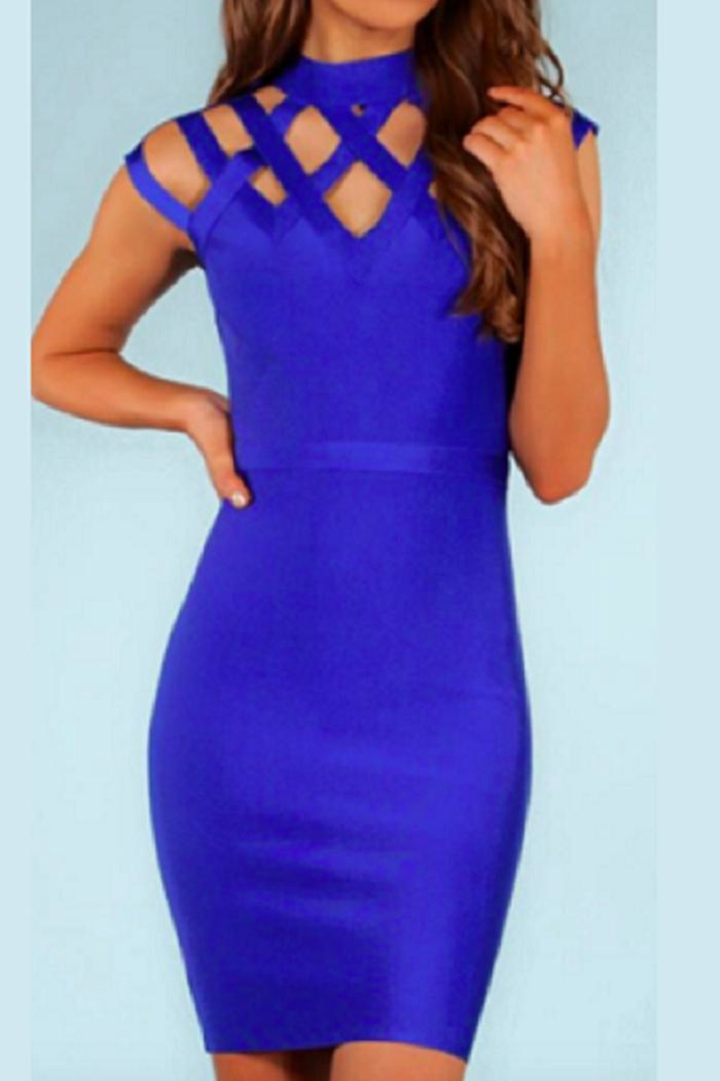 82e363e99a5d5b Wow Couture She's-Electric Bandage Dress from Massachusetts by ...