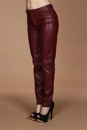 Wow Couture Vegan Leather Pants - Front cropped
