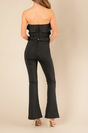 Wow Couture Black Adin Top - Front full body