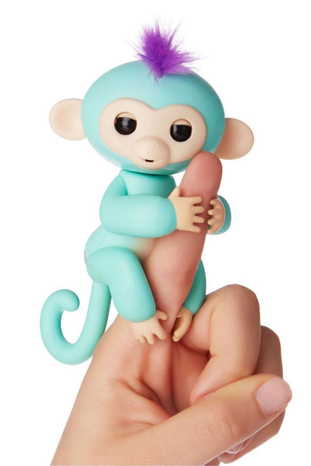 Wow Wee Fingerling-Turquoise Zoe - Main Image