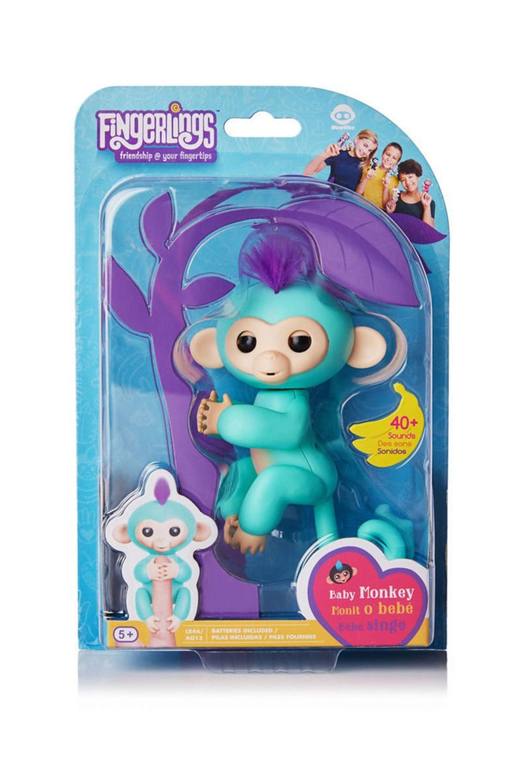 Wow Wee Fingerling-Turquoise Zoe - Side Cropped Image