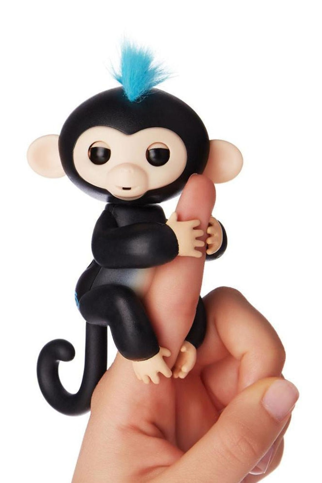 Wow Wee Fingerlings-Black Finn - Front Cropped Image