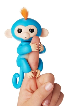 Wow Wee Fingerlings-Blue Boris - Product List Image