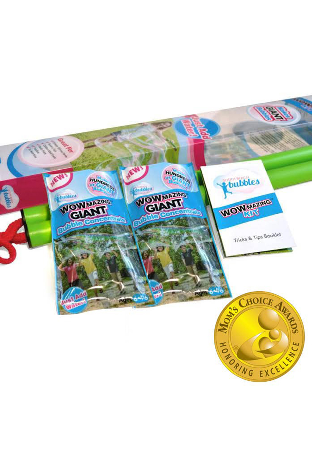 South Beach Bubbles Wowmazing Giant Bubble Concentrate Kit - Front Full Image