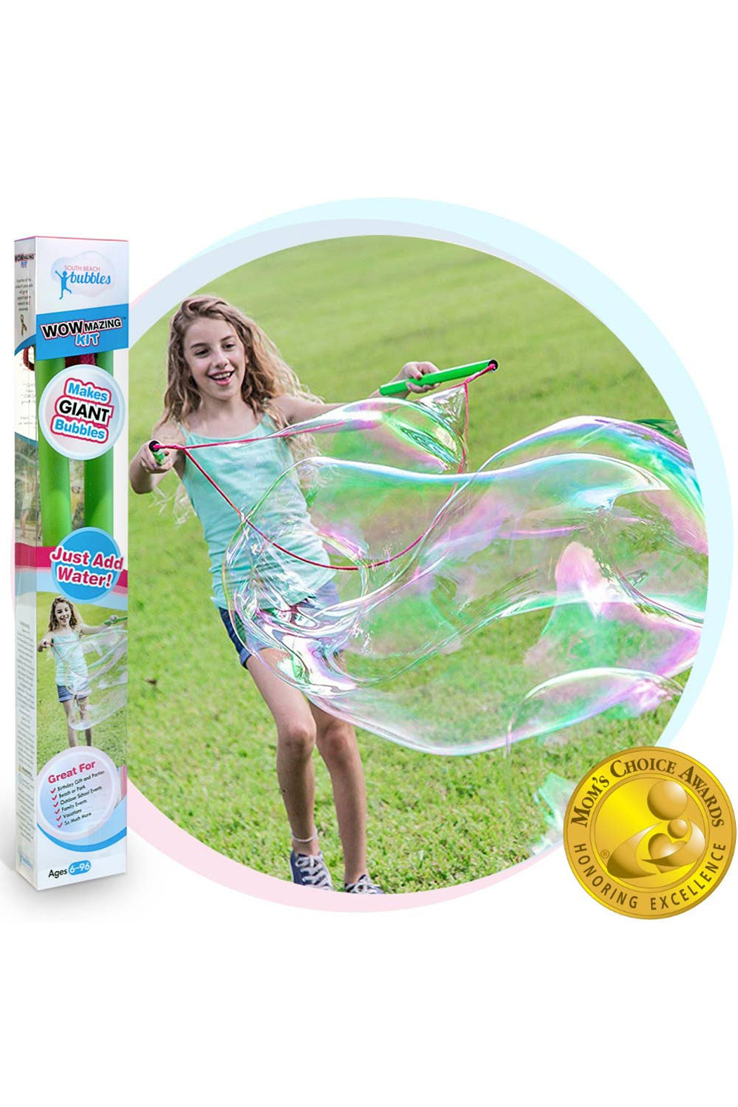 South Beach Bubbles Wowmazing Giant Bubble Concentrate Kit - Main Image
