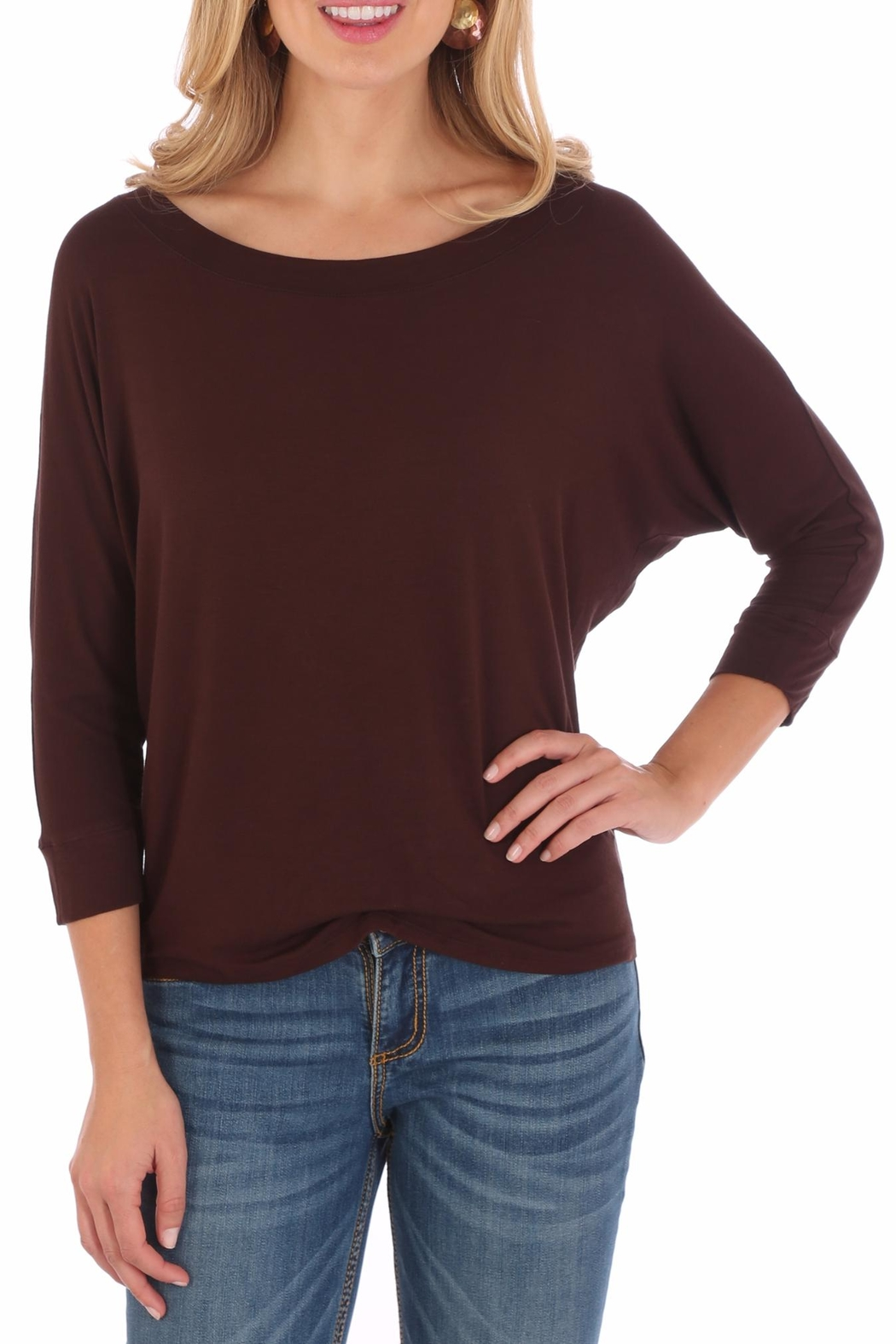 Wrangler Dolman Sleeve Tunic - Front Cropped Image