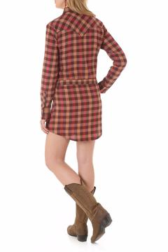Shoptiques Product: Flannel Shirt Dress