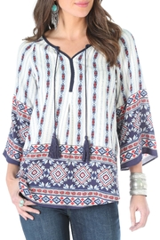 Wrangler Peasant Top - Product Mini Image