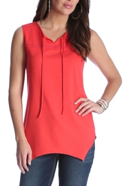 Wrangler Sleeveless Asymmetrical Top - Product Mini Image