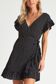 Billabong Wrap and Roll Stripe Dress - Product Mini Image