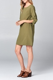 Ellison Wrap Arm Dress - Side cropped