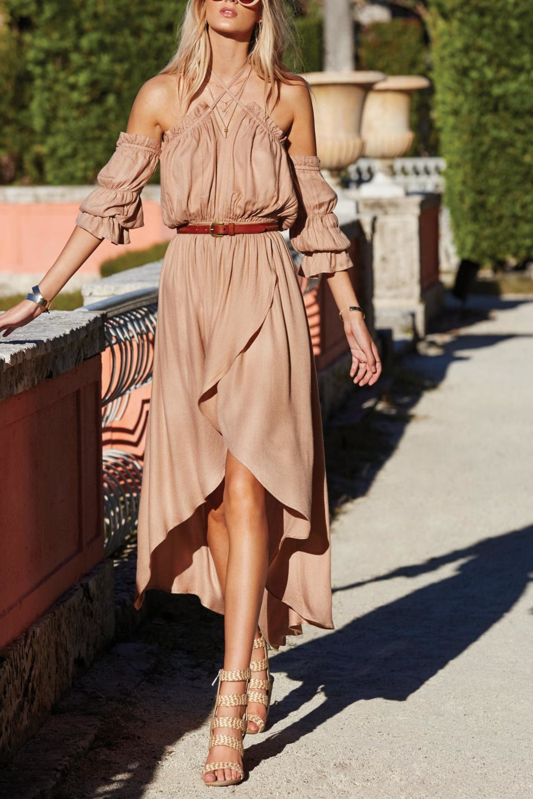 Elan Wrap Around Dress - Main Image