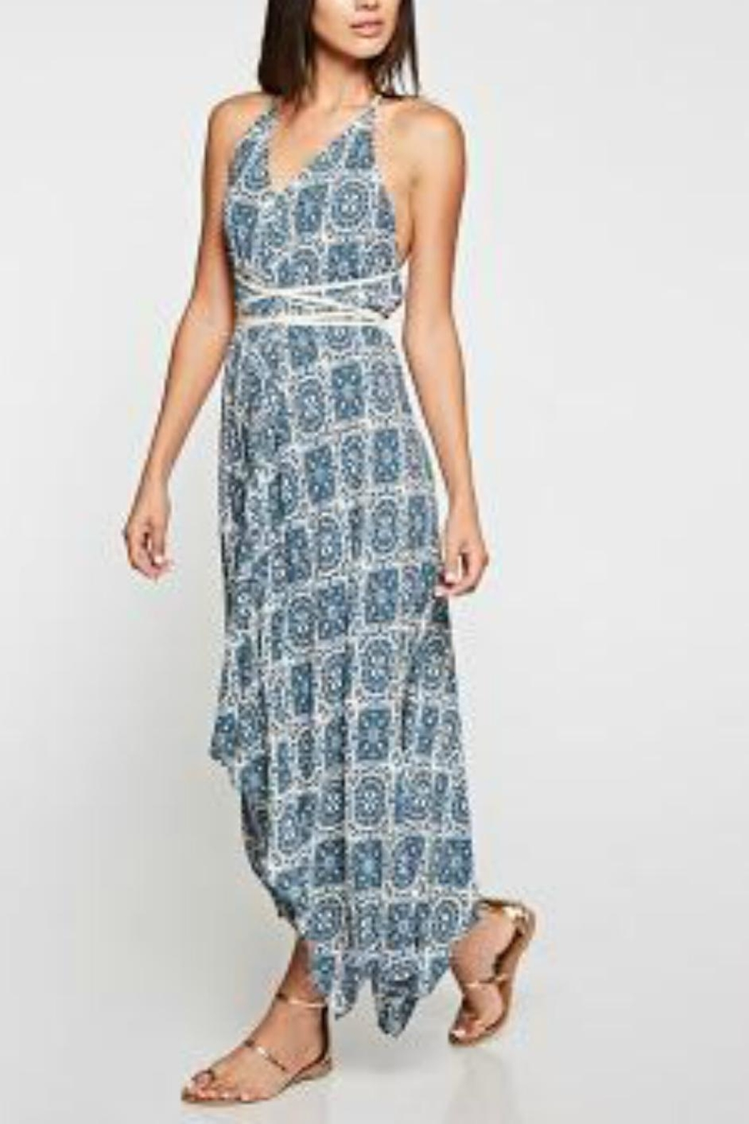 Lovestitch Wrap Around Maxi - Side Cropped Image