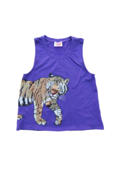 Sparkle City Wrap Around Tiger Tank - Product List Image