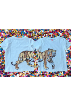 Sparkle City Wrap Around Tiger Tee - Alternate List Image