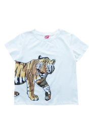 Sparkle City Wrap Around Tiger Tee - Product Mini Image