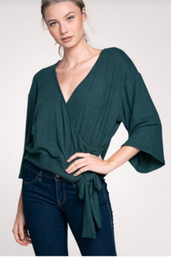 Shoptiques Product: Wrap Ballet Sweater