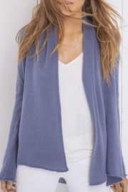Wooden Ships Wrap Cardigan Lightweight - Front full body