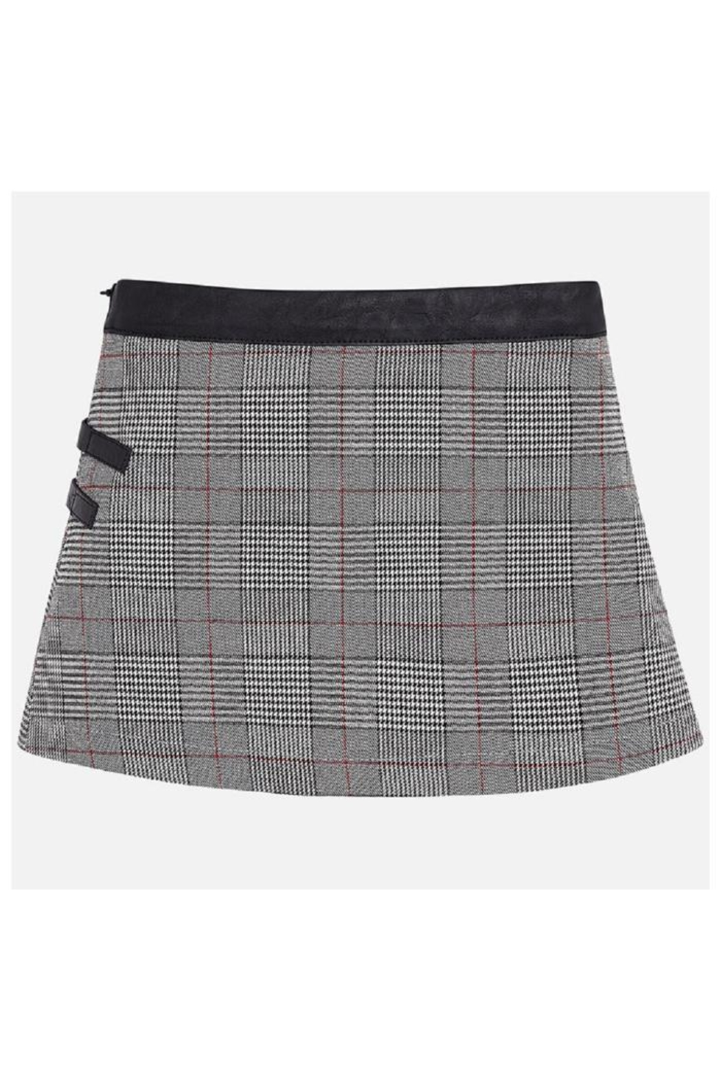 Mayoral Wrap Checked Skirt - Front Full Image