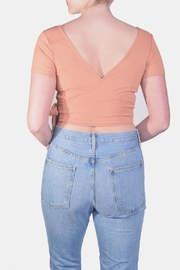 Miss Love Wrap Crop Top - Side cropped