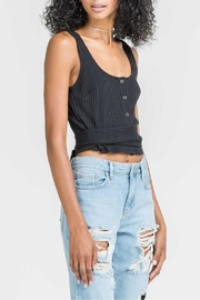 Pretty Little Things Wrap Crop Top - Product Mini Image