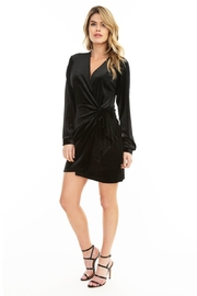 Bobi Los Angeles Wrap Dress - Front cropped