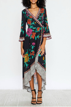 Flying Tomato Wrap floral dress - Product List Image