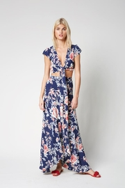 Flynn Skye Wrap Floral Maxi - Product Mini Image