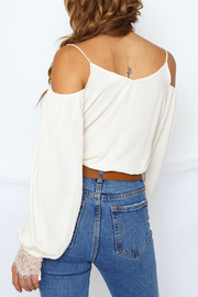 Sugarlips Wrap Front Bodysuit - Side cropped