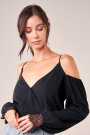 Sugarlips Wrap Front Bodysuit - Front cropped