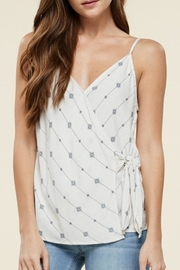 Staccato Wrap Front Cami - Front cropped