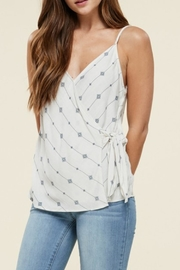 Staccato Wrap Front Cami - Side cropped
