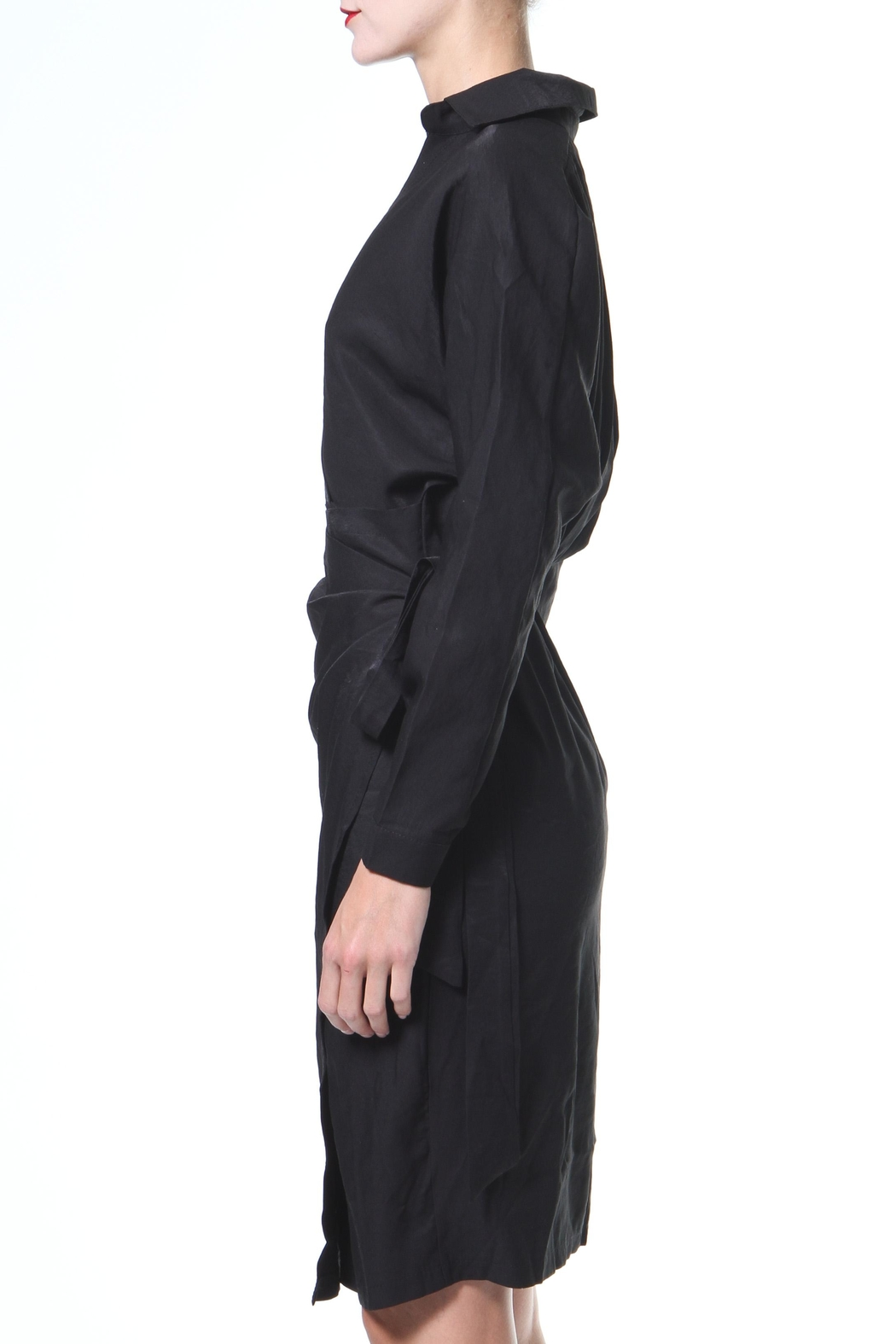 Madonna & Co Wrap Front Dress - Front Full Image