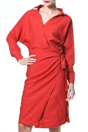Madonna & Co Wrap Front Dress - Front cropped