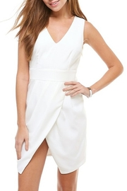 TCEC Wrap Front Dress - Front cropped